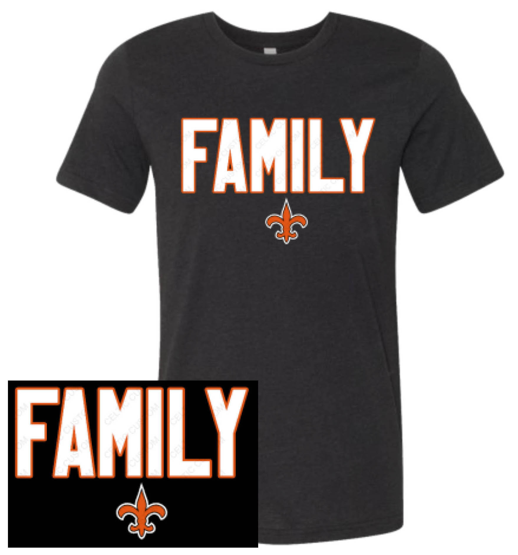 Unisex Short Sleeve Family T-Shirt